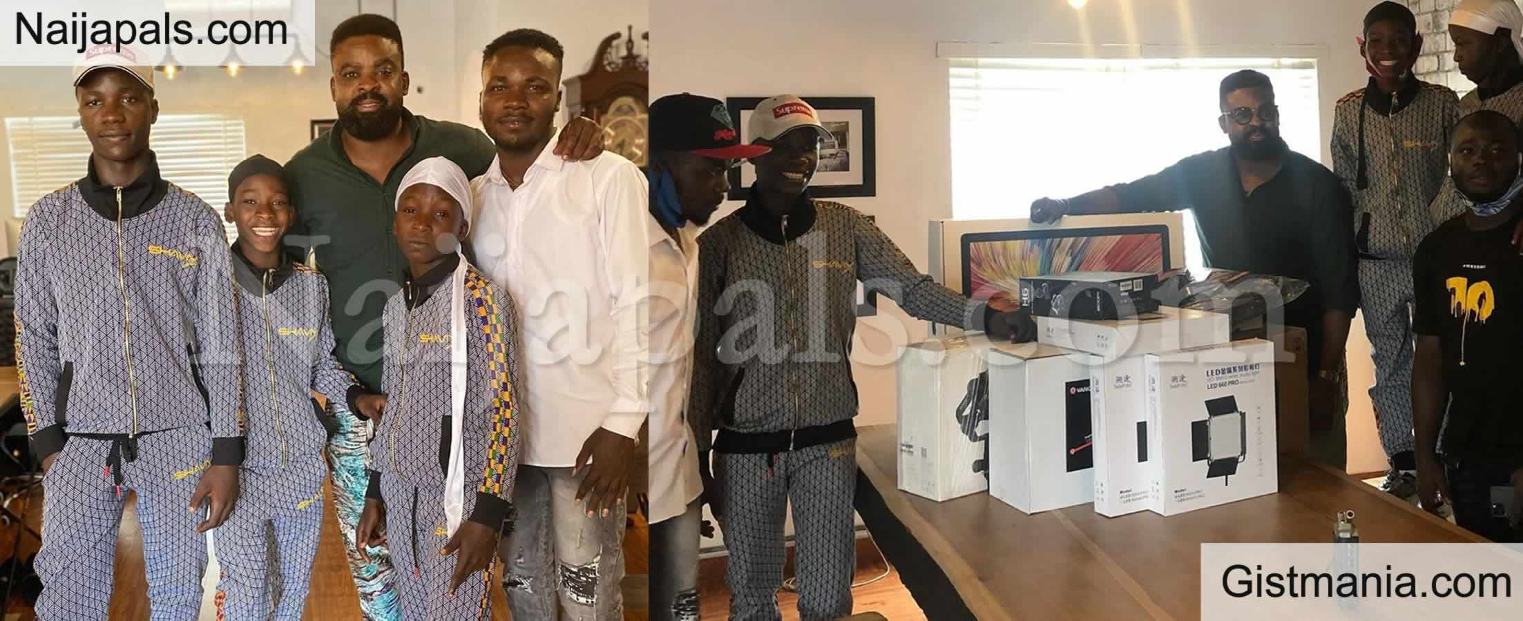 <img alt='.' class='lazyload' data-src='https://img.gistmania.com/emot/video.gif' /> <b>Sensational Ikorodu Bois Gets Filming Equipment Worth Millions of Naira From Netflix</b> (Videos)