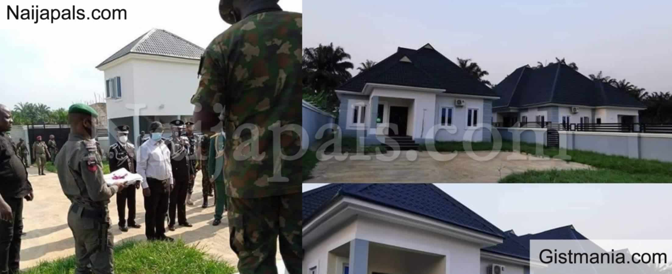 <img alt='.' class='lazyload' data-src='https://img.gistmania.com/emot/photo.png' /> PHOTOS: <b>Abia State Gov. Ikeazu Launches 2 New Houses As Official Quarters To Security Chiefs</b>
