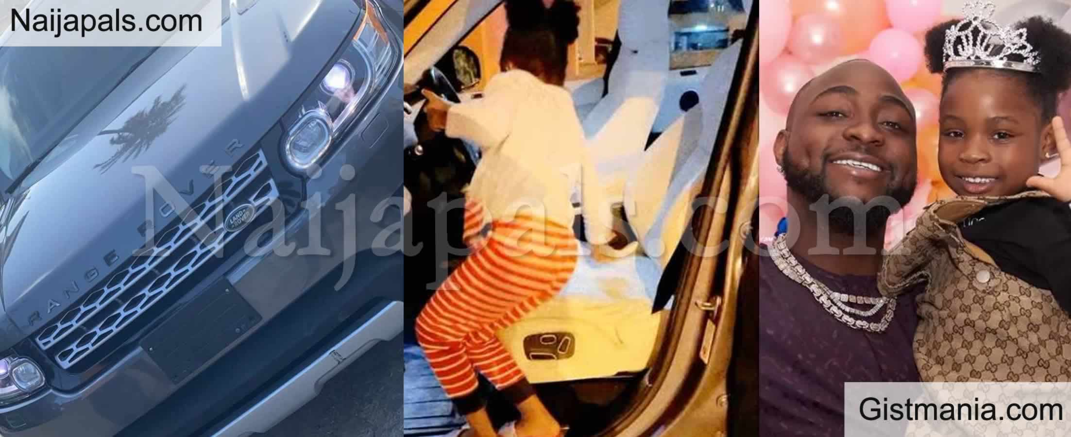 <img alt='.' class='lazyload' data-src='https://img.gistmania.com/emot/video.gif' /> <b>Davido Gifts His Daughter Imade A Brand New Range Rover For Her 6th Year Birthday</b> (VID)