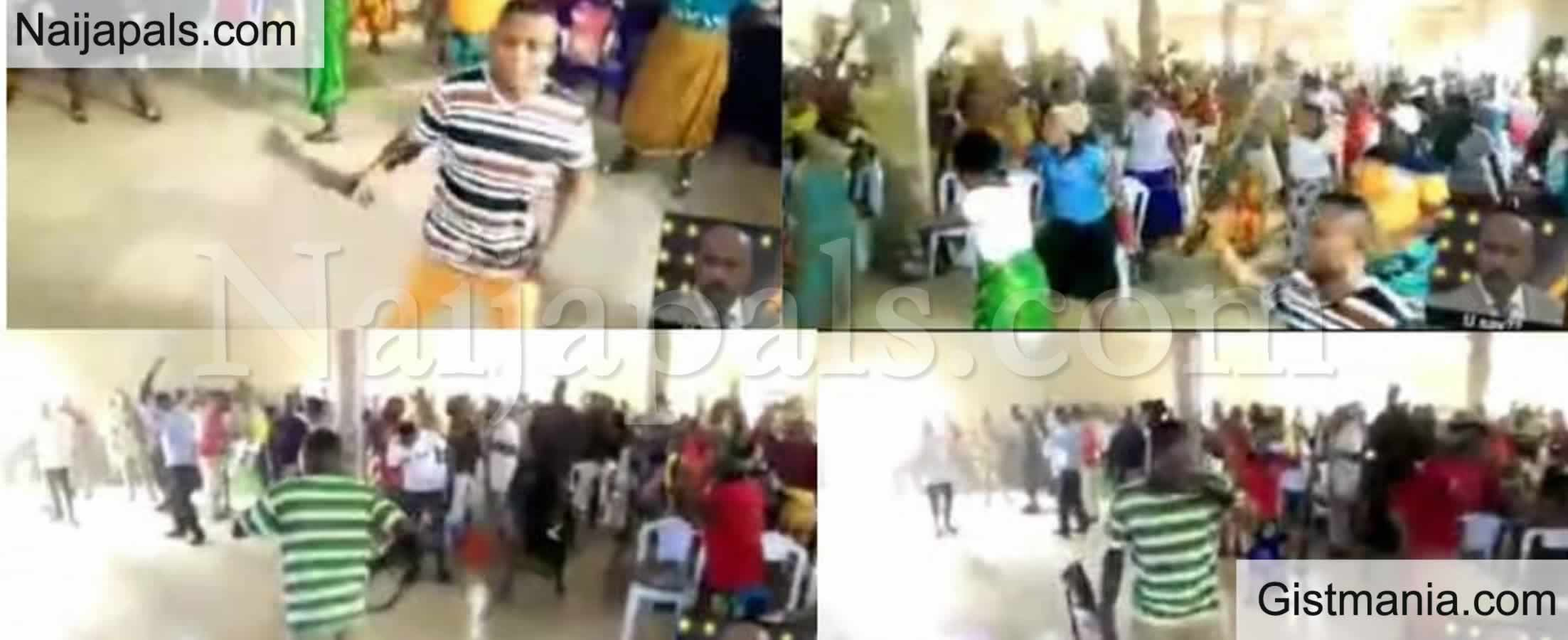 <img alt='.' class='lazyload' data-src='https://img.gistmania.com/emot/video.gif' /> Video: <b>Church Members Praying, Armed With Different Weapons To Attack Devil And Principalities</b>