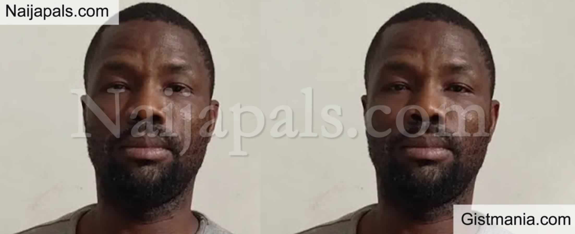 <img alt='.' class='lazyload' data-src='https://img.gistmania.com/emot/comment.gif' /> <b>Face Of Suspected Nigerian Scammer, Chukwudi Opara Busted In India Over Cybercrime</b>