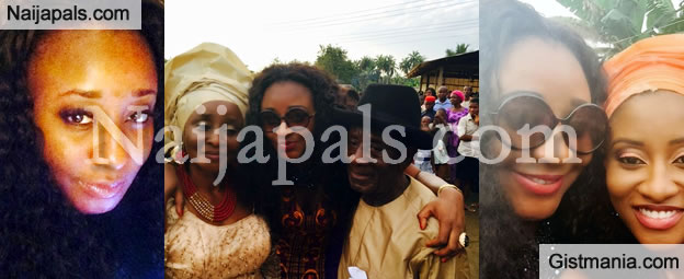Ini Edo Shows Off Parents At Her Sister's Wedding [Photo