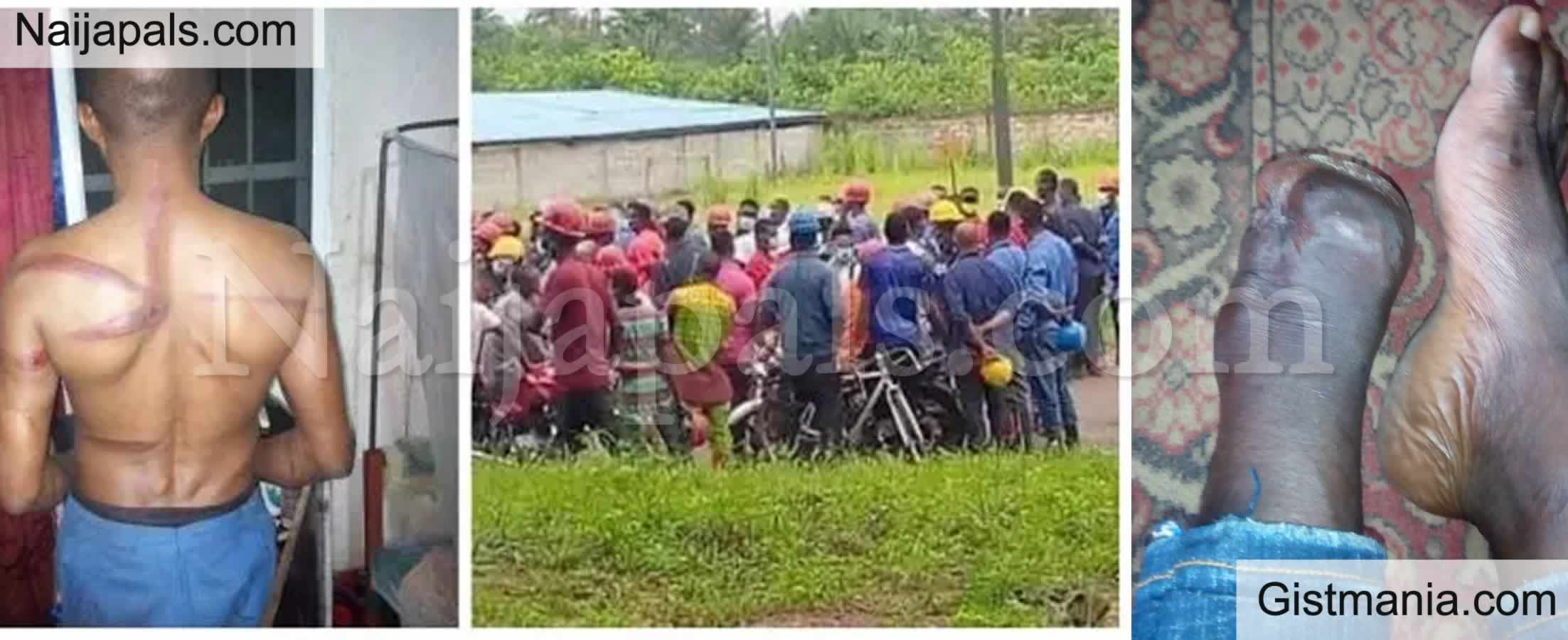 <img alt='.' class='lazyload' data-src='https://img.gistmania.com/emot/shocked.gif' /> EXPOSED! <b>The Chinese Factory Where Nigerian Workers Are Treated As Slave in Abia</b> (Photos)
