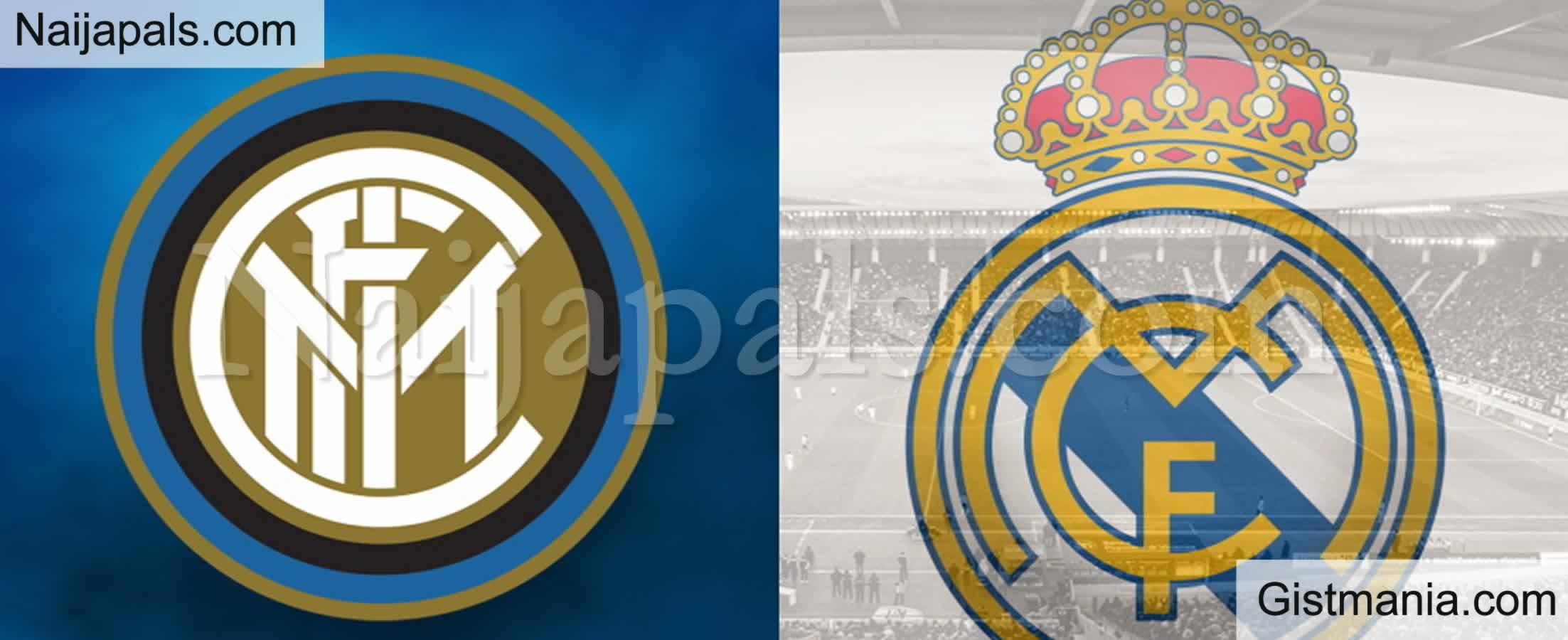 <img alt='.' class='lazyload' data-src='https://img.gistmania.com/emot/soccer.gif' /> <b>Inter Milan v Real Madrid : UEFA Champions League Match, Team News, Goal Scorers and Stats</b>