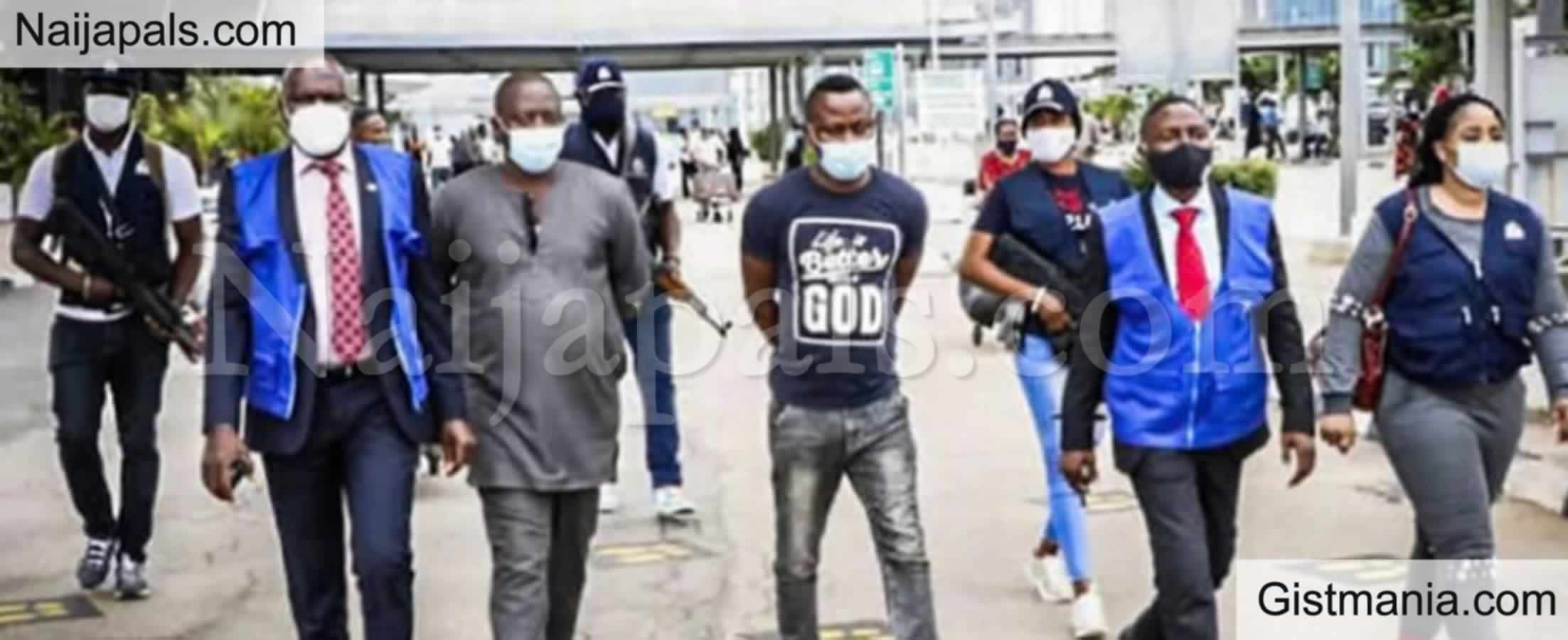 <img alt='.' class='lazyload' data-src='https://img.gistmania.com/emot/news.gif' /> <b>3 Nigerians Arrested By INTERPOL For Allegedly Scamming 50,000 Victims In 3 Years</b>