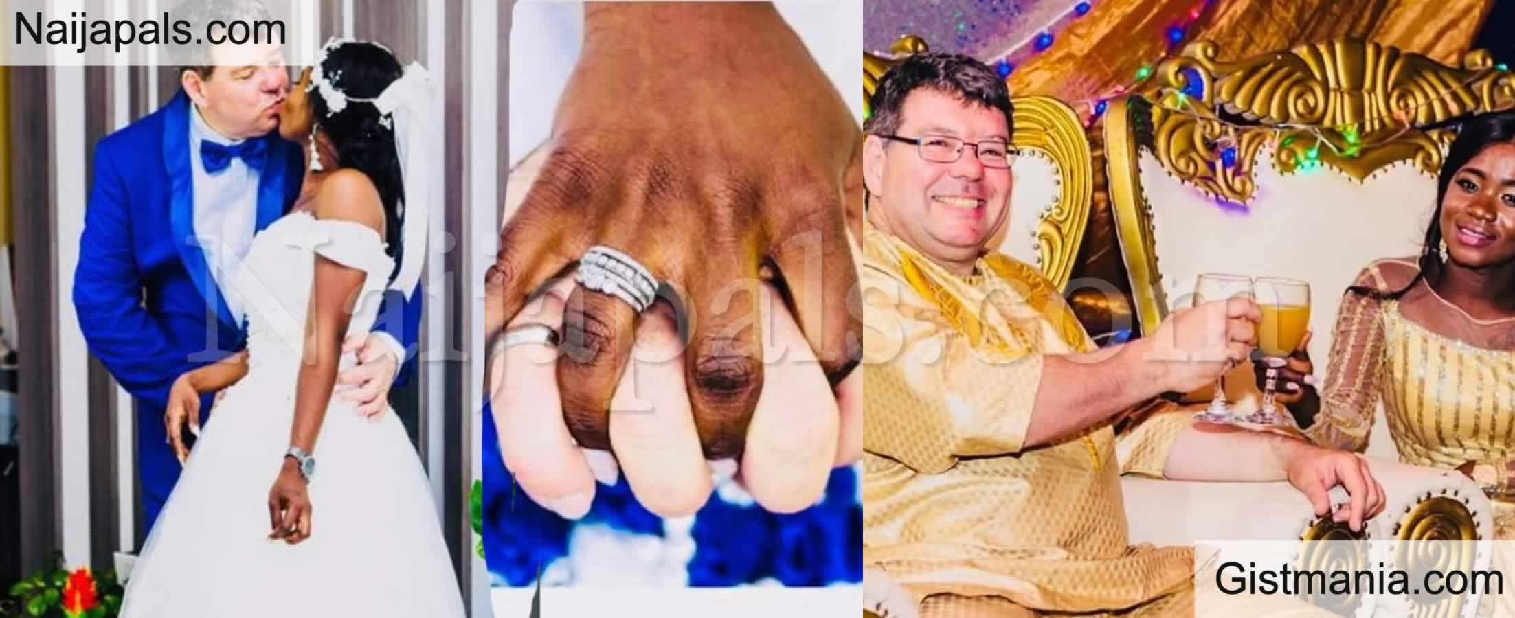 <img alt='.' class='lazyload' data-src='https://img.gistmania.com/emot/photo.png' /> <b>Photos Speak: Beautiful African Bride, Naomi Ties The Knot With Her 'Oyinbo' Hubby</b>