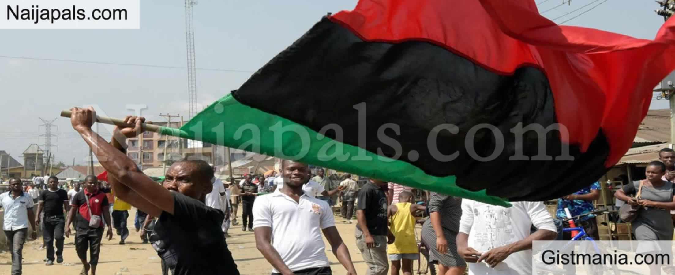 <img alt='.' class='lazyload' data-src='https://img.gistmania.com/emot/news.gif' /> UPDATE: <b>IPOB Declares Total Shutdown In Biafra Land On October 1st</b>