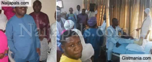 Health Minister, Isaac Adewole Visits Man Who Developed