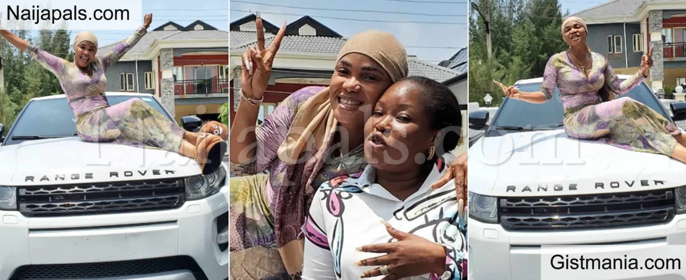 <img alt='.' class='lazyload' data-src='https://img.gistmania.com/emot/video.gif' /> VIDEO + PHOTOS: <b>Actress Iyabo Surprised With A Car Gift From One Of Her 'God Daughters'</b>