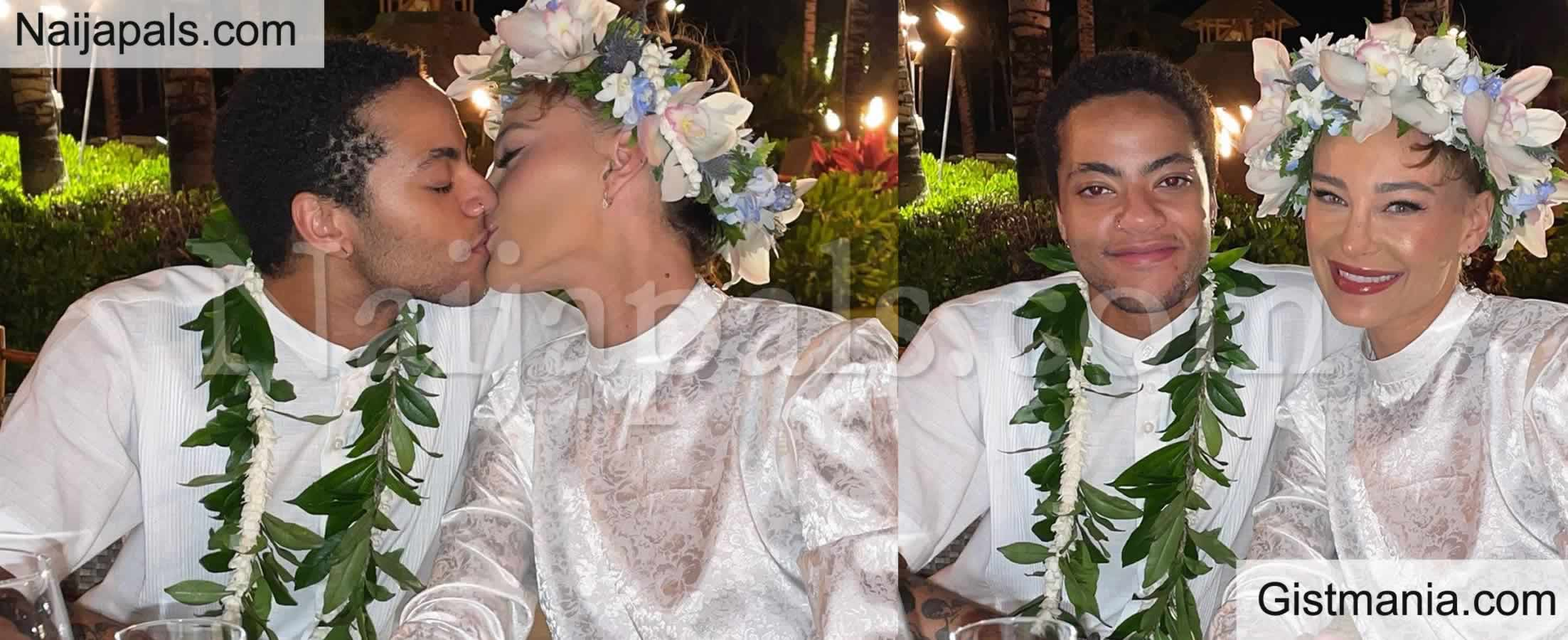<img alt='.' class='lazyload' data-src='https://img.gistmania.com/emot/comment.gif' /> <b>Sade Adu's Transgender Son, Izaak Officially Ties The Knots With Longtime Partner</b>