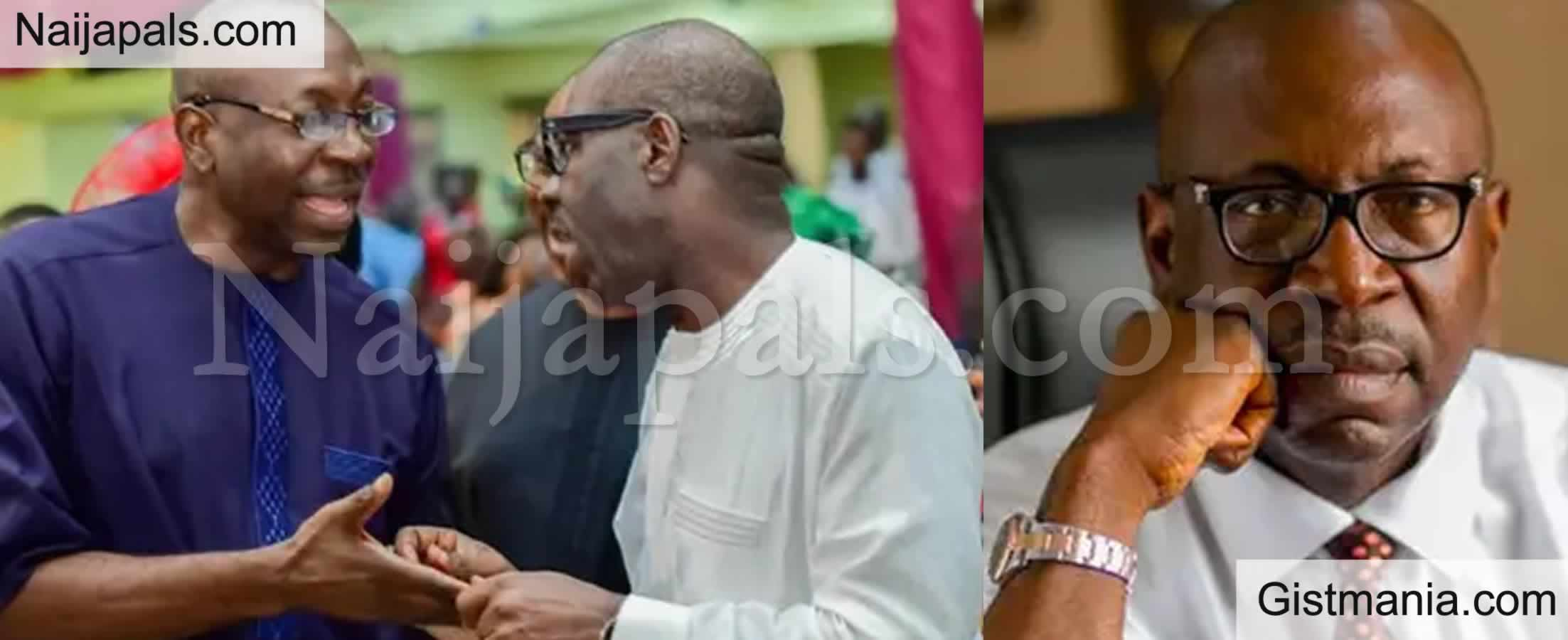 <img alt='.' class='lazyload' data-src='https://img.gistmania.com/emot/comment.gif' /> Come Back to APC - <b>Ize-Iyamu Begs Edo Governor Elect, Godwin Obaseki</b>