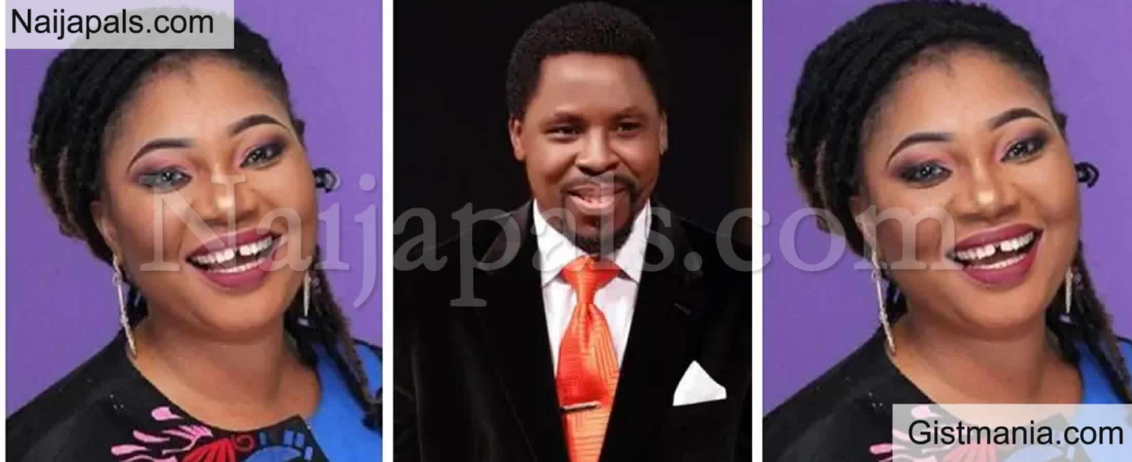 """<img alt='.' class='lazyload' data-src='https://img.gistmania.com/emot/comment.gif' /> <b>""""TB Joshua's Spirit Visited Me After He Died"""" – Actress Jaiye Kuti Recounts Experience</b>"""