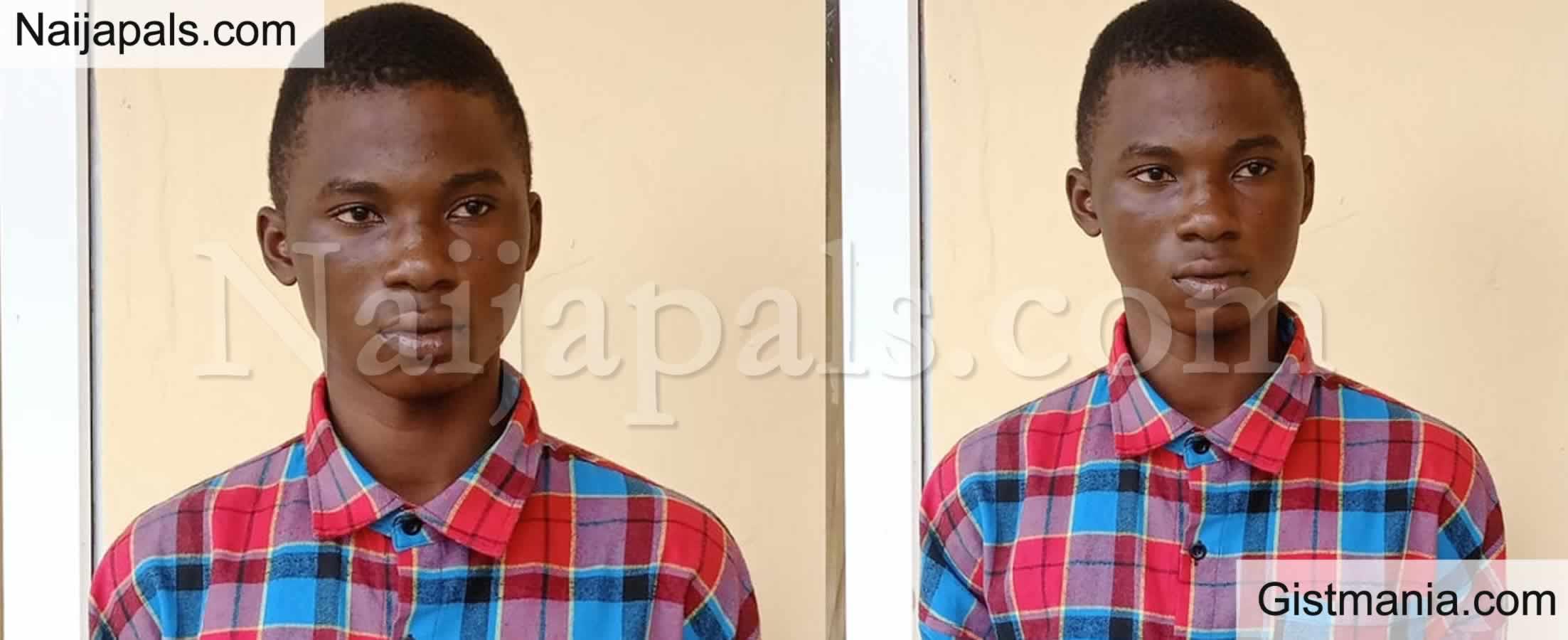 """<img alt='.' class='lazyload' data-src='https://img.gistmania.com/emot/cry.gif' /> <b>18-Yr-Old Boy, Jamiu Arrested For Allegedly Stabbing A 28-Yr-Old """"Runs Girl"""" To Death In Ogun</b>"""