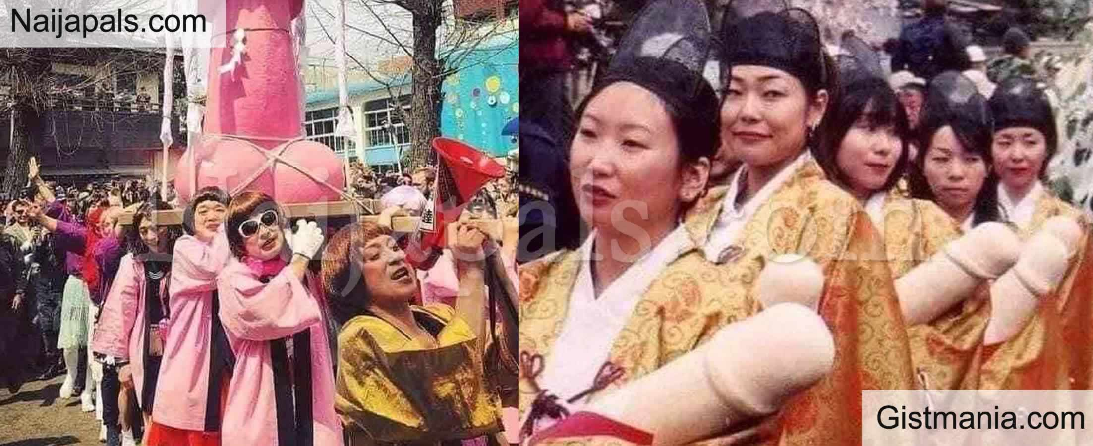<img alt='.' class='lazyload' data-src='https://img.gistmania.com/emot/comment.gif' /> FACTS: <b>Why Women in Japan Celebrate Pen!s Festival</b> (Photos)