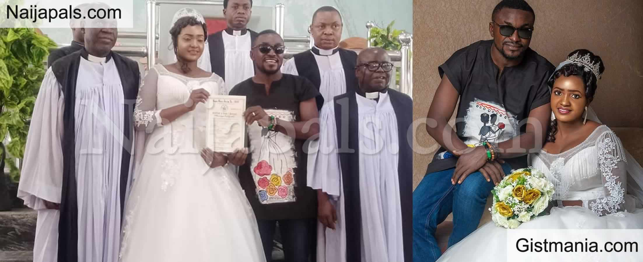 <img alt='.' class='lazyload' data-src='https://img.gistmania.com/emot/comment.gif' /> <b>Nigerian Man Who Wore Jeans and Dashiki Shirt to His Wedding Has This to Say About His Outfit</b>
