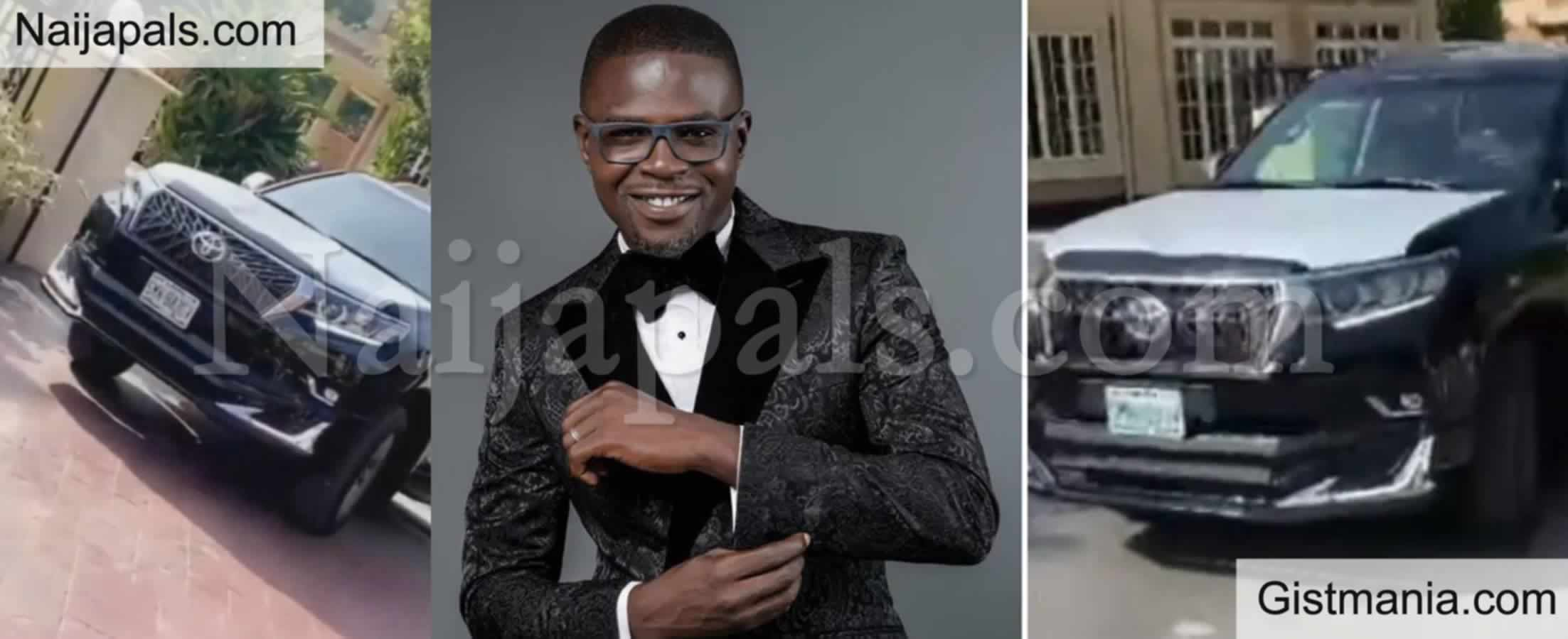<img alt='.' class='lazyload' data-src='https://img.gistmania.com/emot/thumbs_up.gif' /> Nigerian Rapper <b>JJC Acquires Brand New SUV</b> (PHOTO)