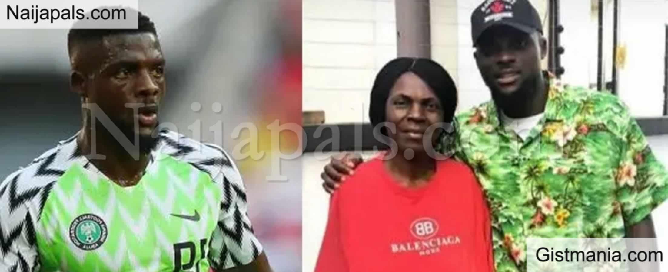 <img alt='.' class='lazyload' data-src='https://img.gistmania.com/emot/broken_heart.gif' /> <b>Footballer, John Ogu Heartbroken As He Announces Death Of His Mother</b>