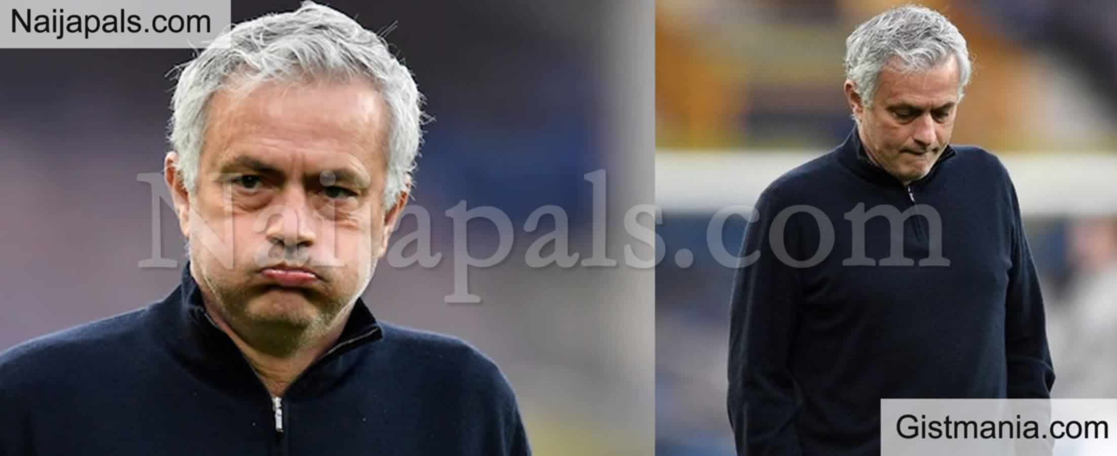 <img alt='.' class='lazyload' data-src='https://img.gistmania.com/emot/soccer.gif' /> Just In: <b>Jose Mourinho Fired As Tottenham Coach, Assistant Coach Ryan Mason To Assume Duties</b>