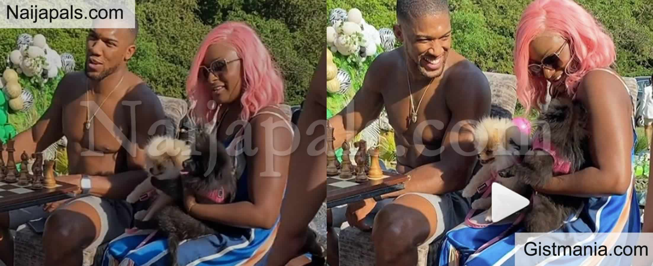 <img alt='.' class='lazyload' data-src='https://img.gistmania.com/emot/video.gif' /> <b>This Recent Video of DJ Cuppy And Joshua Anthony Sparks Mixed Reactions Online</b>