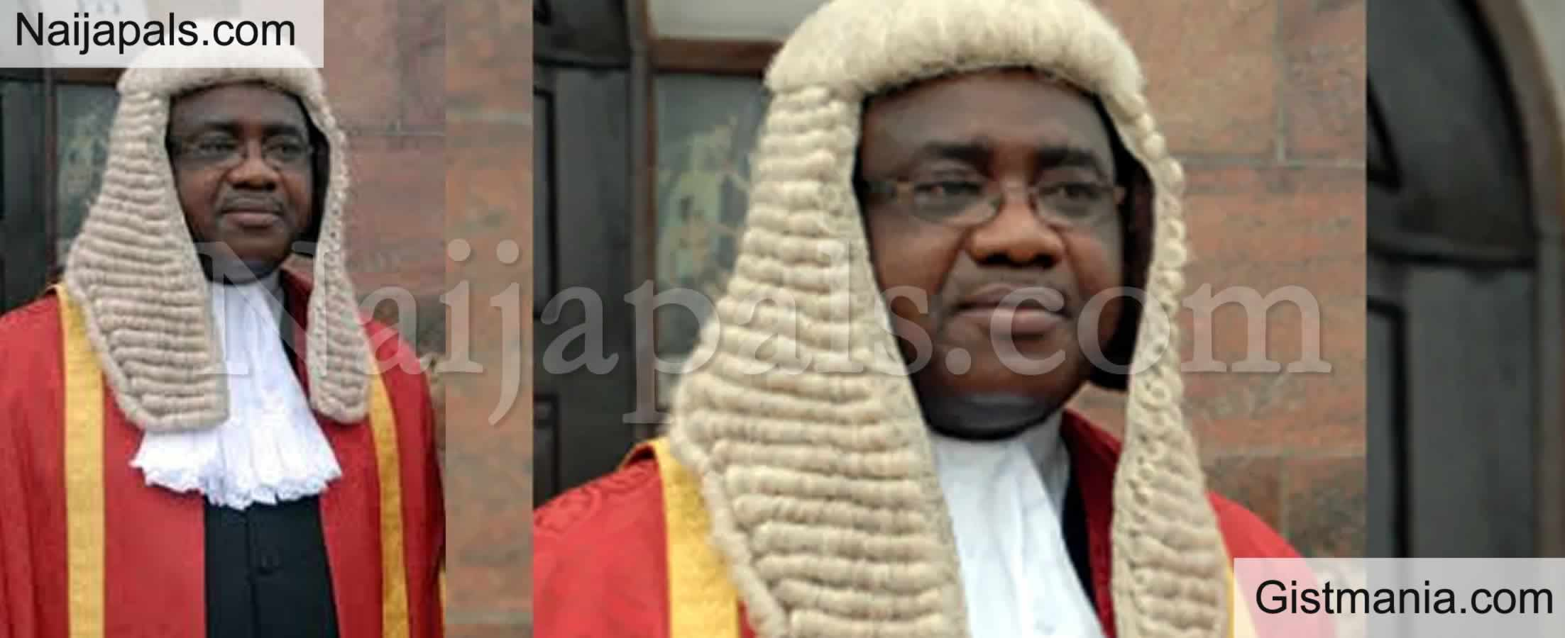 <img alt='.' class='lazyload' data-src='https://img.gistmania.com/emot/cry.gif' /> <b>Justice Jude Okeke Of The Federal High Court Is Dead</b>