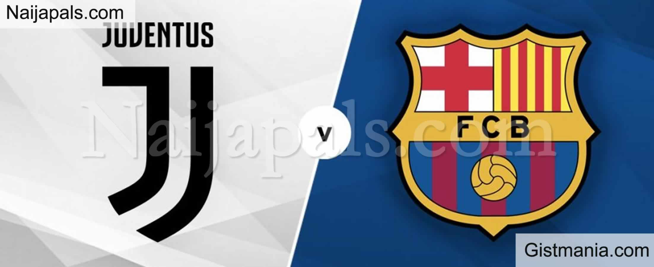 <img alt='.' class='lazyload' data-src='https://img.gistmania.com/emot/soccer.gif' /> <b>Juventus v Barcelona : UEFA Champions League Match, Team News, Goal Scorers and Stats</b>