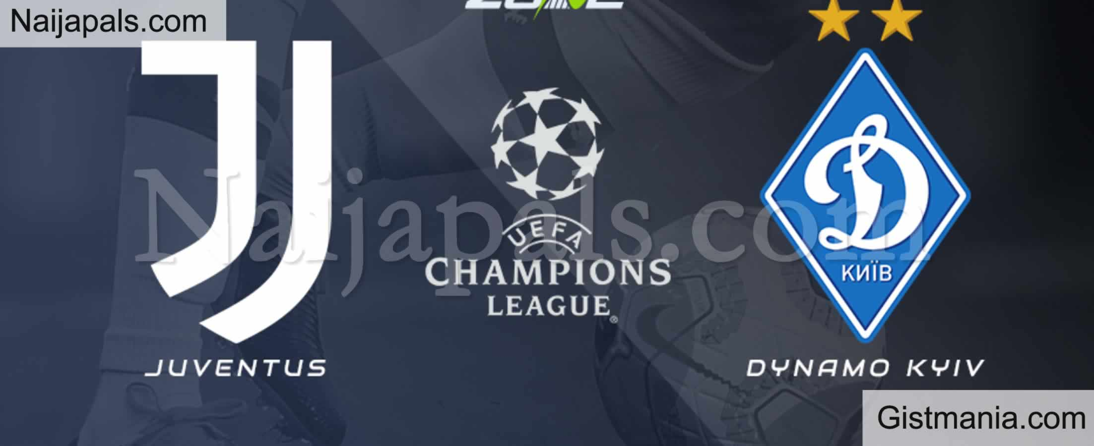 <img alt='.' class='lazyload' data-src='https://img.gistmania.com/emot/soccer.gif' /> <b>Juventus v Dynamo Kiev : UEFA Champions League Match, Team News, Goal Scorers and Stats</b>