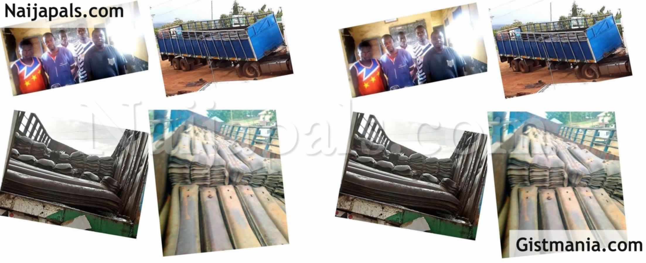 <img alt='.' class='lazyload' data-src='https://img.gistmania.com/emot/news.gif' /> <b>Kaduna Police Command Arrest Five Suspects Over Rail Track Vandalization In The State</b> (Photos)
