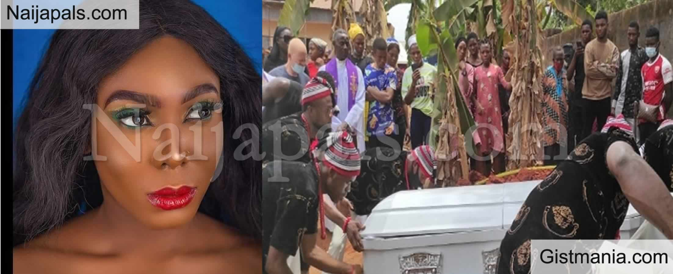 <img alt='.' class='lazyload' data-src='https://img.gistmania.com/emot/comment.gif' /> Photos: <b>Popular Blogger, Doris Kamuche 'Adalgbo' Buried Amidst Tears</b>