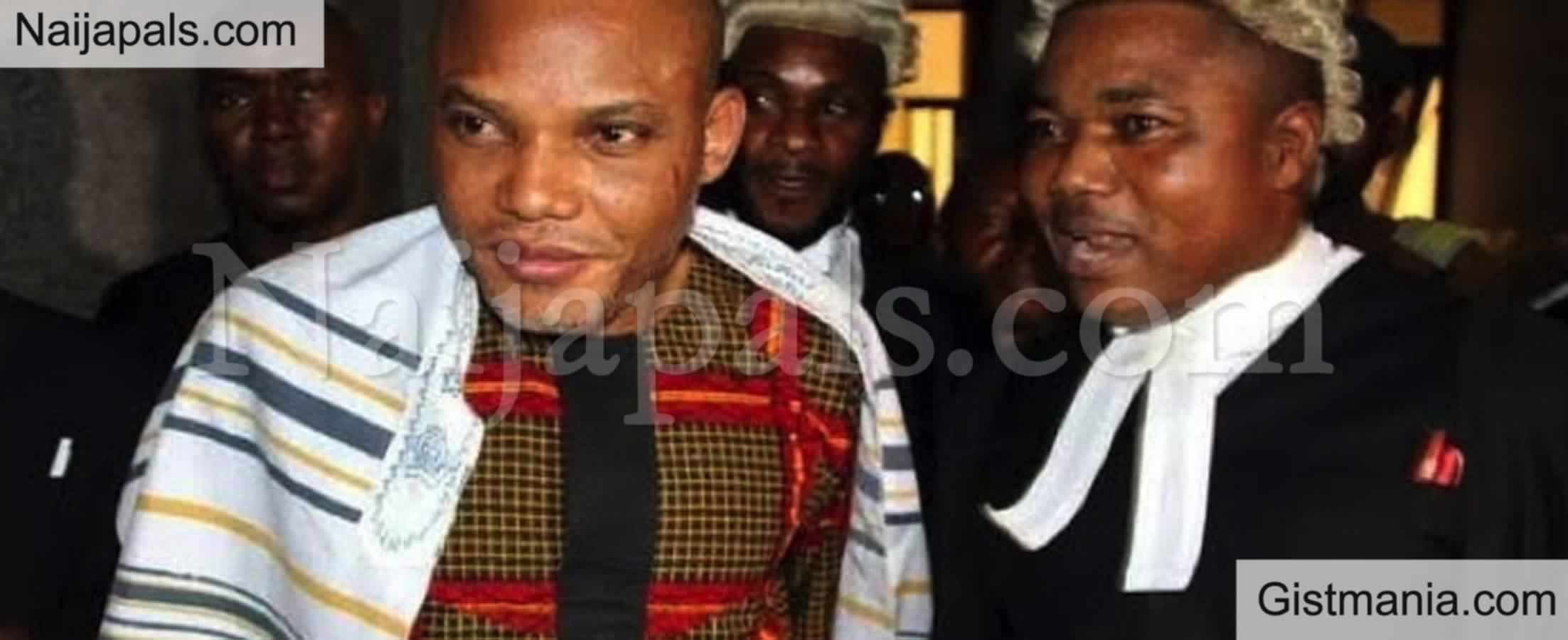 <img alt='.' class='lazyload' data-src='https://img.gistmania.com/emot/news.gif' /> <b>'He Requires Advanced Medical Care' - Kanu's Lawyer Reveals </b>After Visiting Him in DSS Custody