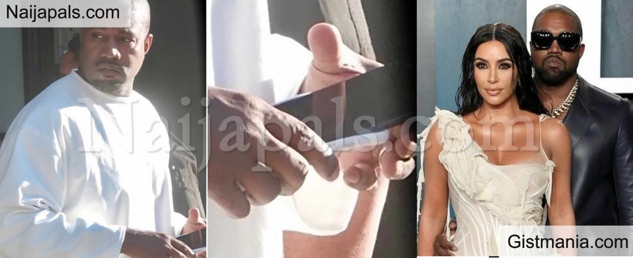 <img alt='.' class='lazyload' data-src='https://img.gistmania.com/emot/comment.gif' /> PHOTOS: <b>Kanye West Recently Spotted With His Wedding Ring Amidst Divorce From Kim Kardashian</b>