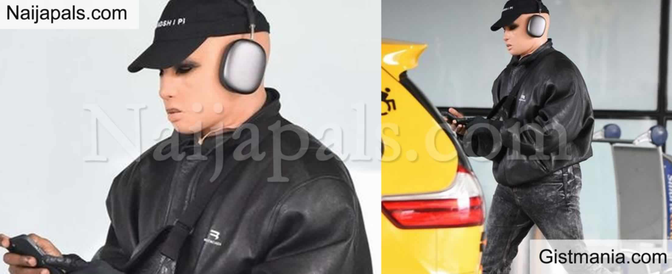 <img alt='.' class='lazyload' data-src='https://img.gistmania.com/emot/photo.png' /> Photo Of<b> Kanye West Wearing Creepy Prosthetic Mask Resembling A Caucasian Woman </b>