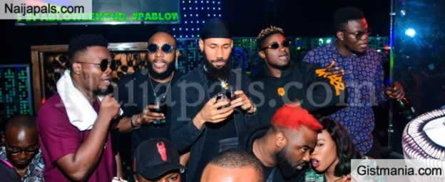 Olamide, Phyno, E-money Attend Nigerian Singer, Kcee 38th