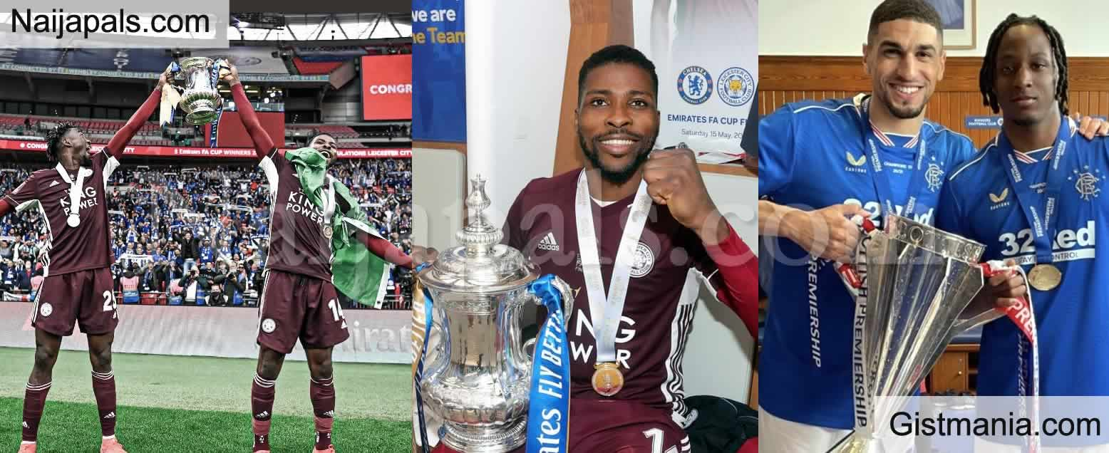 <img alt='.' class='lazyload' data-src='https://img.gistmania.com/emot/news.gif' /> <b>Kelechi Iheanacho, Wilfred Ndidi, Joe Aribo and Leon Balogun All Victorious In UK Football</b>