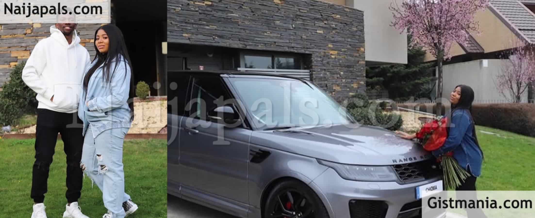 <img alt='.' class='lazyload' data-src='https://img.gistmania.com/emot/photo.png' /> <b>Nigerian Footballer, Kenneth Omeruo Presents N50m Range Rover To His Wife As Birthday Gift</b>