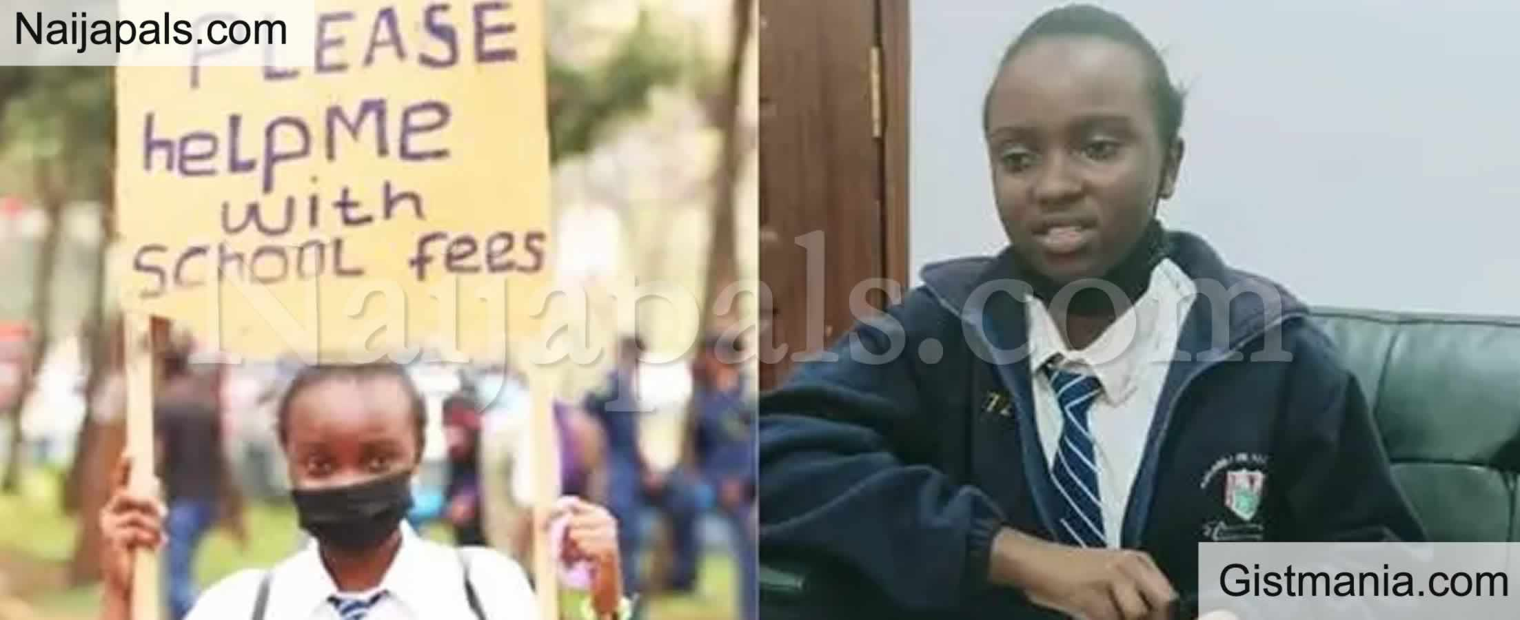<img alt='.' class='lazyload' data-src='https://img.gistmania.com/emot/comment.gif' /> <b>Well-Wishers Donated For Student, Mellan Njeri Who Begged School Fees On Street in Kenya</b>
