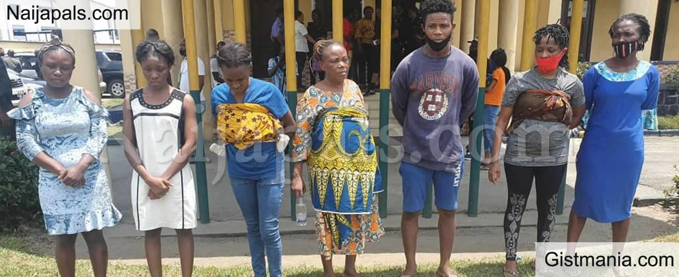 <img alt='.' class='lazyload' data-src='https://img.gistmania.com/emot/comment.gif' /> <b>Rivers State Police Intercepts Sale Of Day-Old Baby, Culprits Arrested</b>