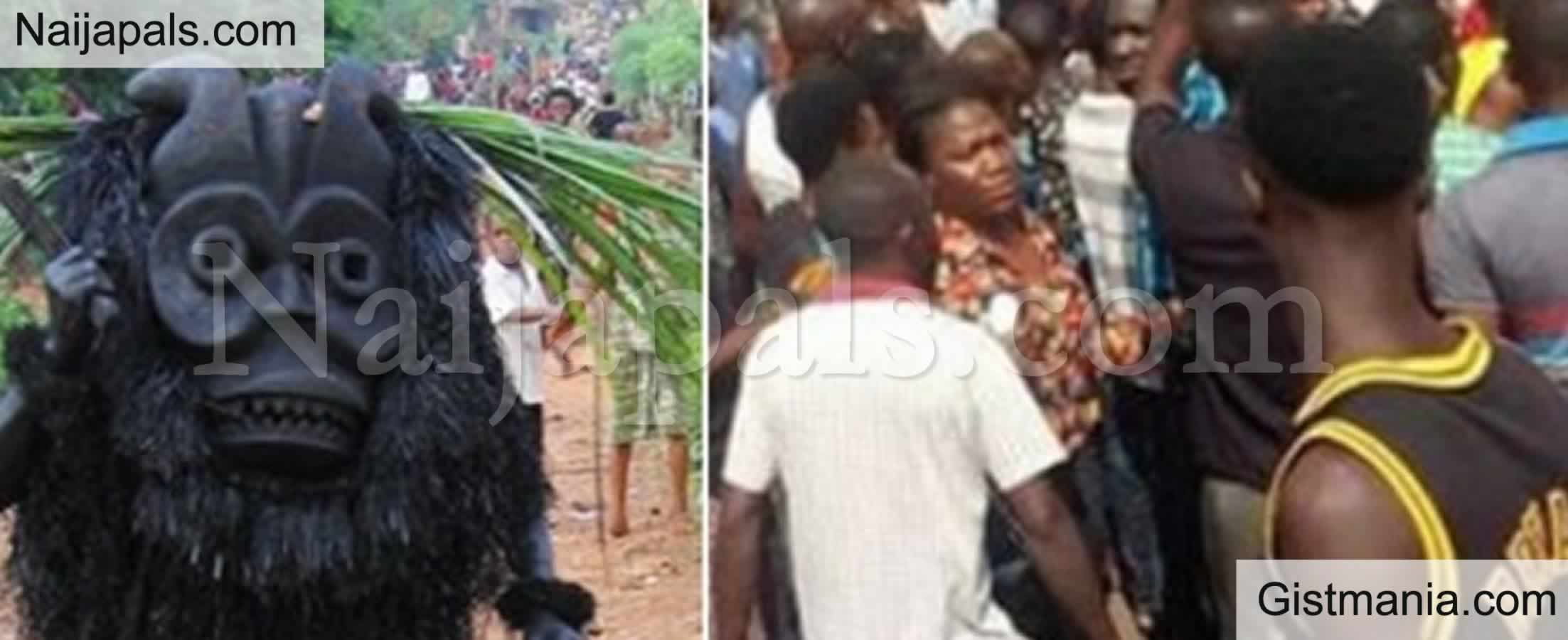 <img alt='.' class='lazyload' data-src='https://img.gistmania.com/emot/shocked.gif' /> <b>Angry Kogi Youths Beat Pastor To Coma Over Refusal To Allow Masquerade In Church</b>