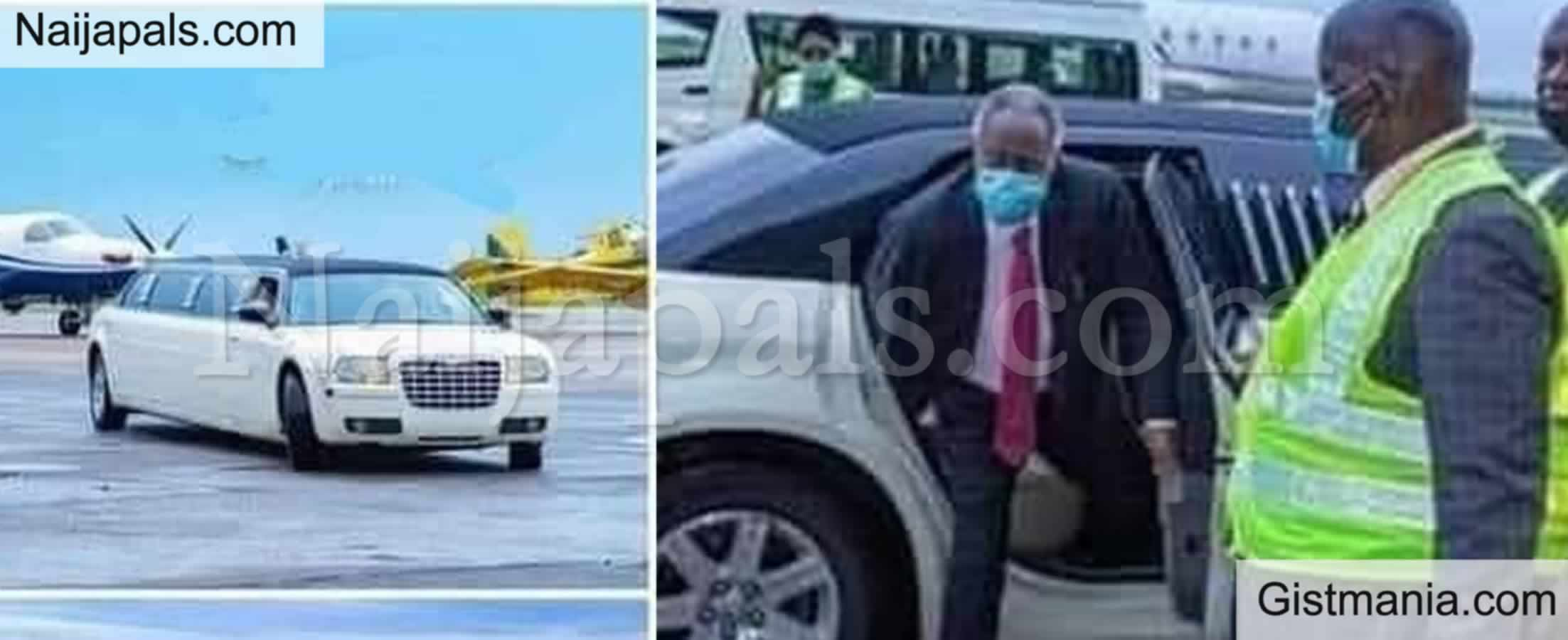 <img alt='.' class='lazyload' data-src='https://img.gistmania.com/emot/photo.png' /> Deeper Life General Overseer,<b> Pa Kumuyi Arrives Abuja For Crusade In Luxurious Limousine</b>