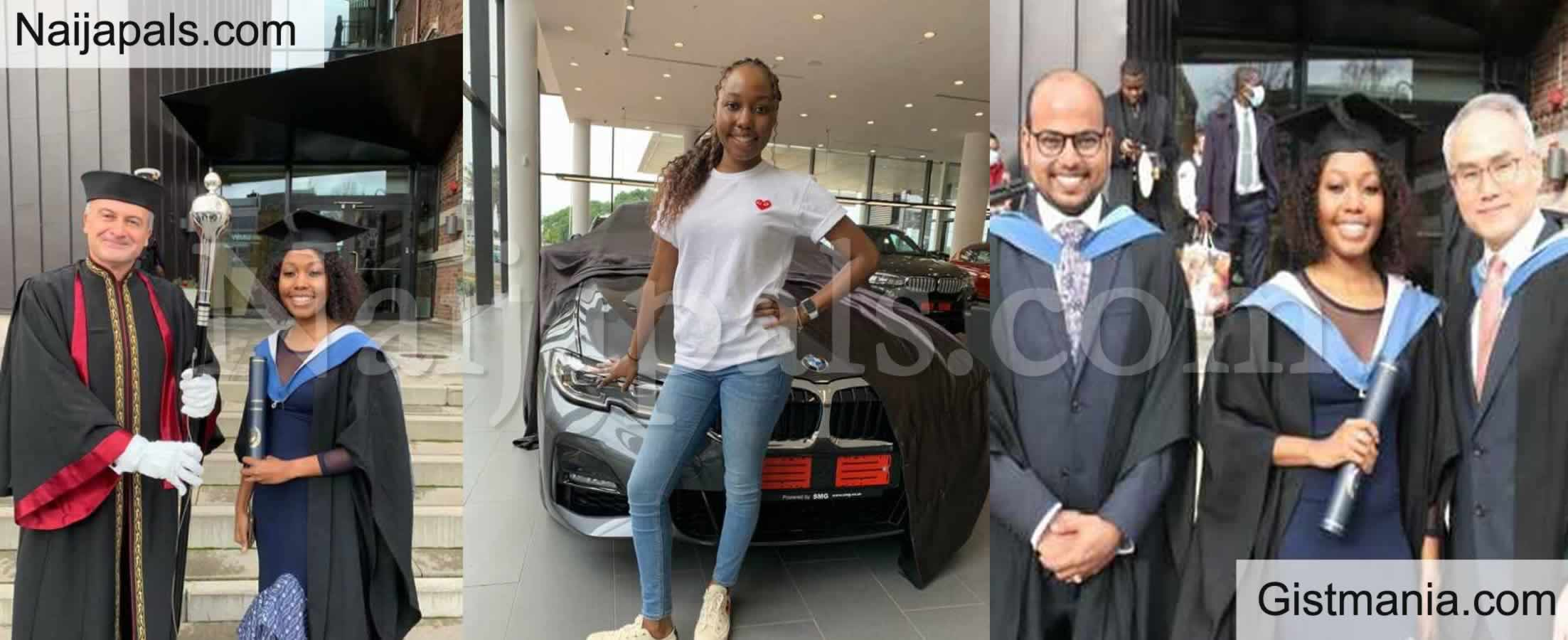 <img alt='.' class='lazyload' data-src='https://img.gistmania.com/emot/comment.gif' /> <b>Young Lady, Sindiswa Celebrates As She Bags Master's Degree & Got A New Car In The Same Month</b>