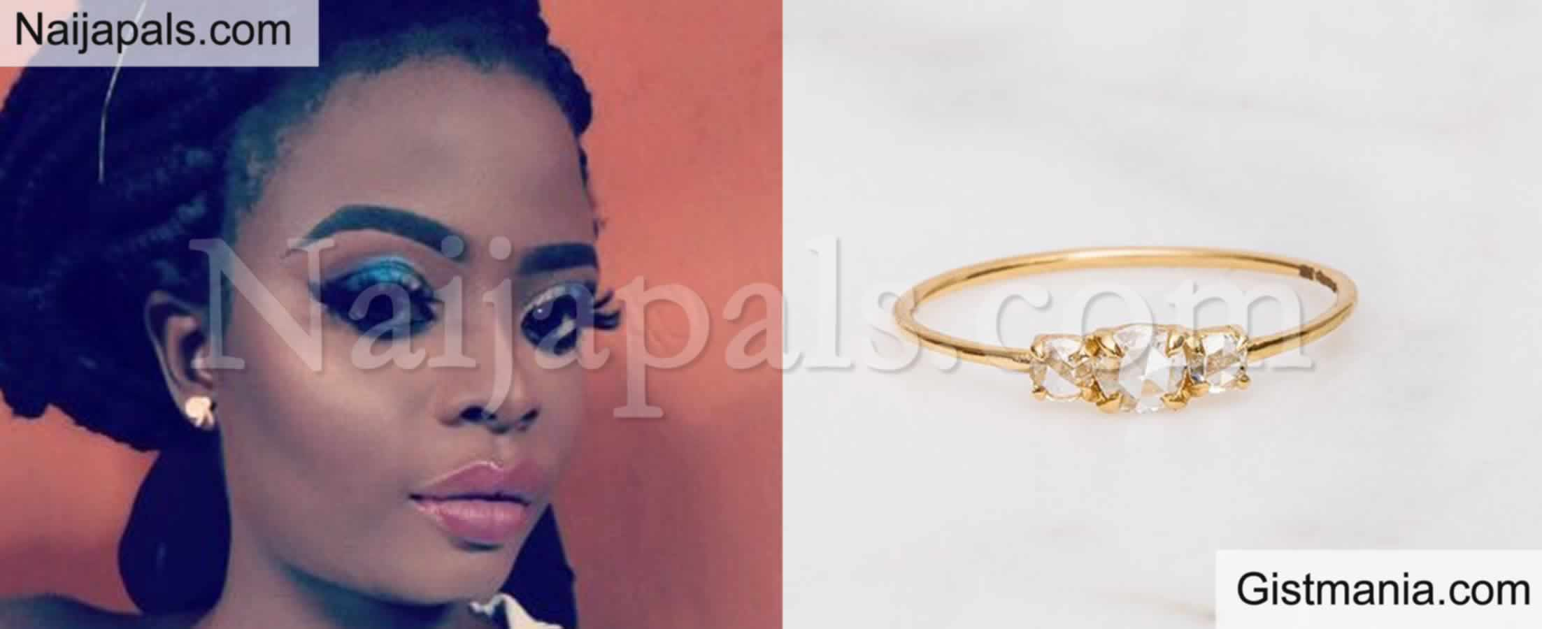 <img alt='.' class='lazyload' data-src='https://img.gistmania.com/emot/comment.gif' /> Huh? <b>Lady Breaks Up With Boyfriend For Proposing To Her With N10K Engagement Ring</b>