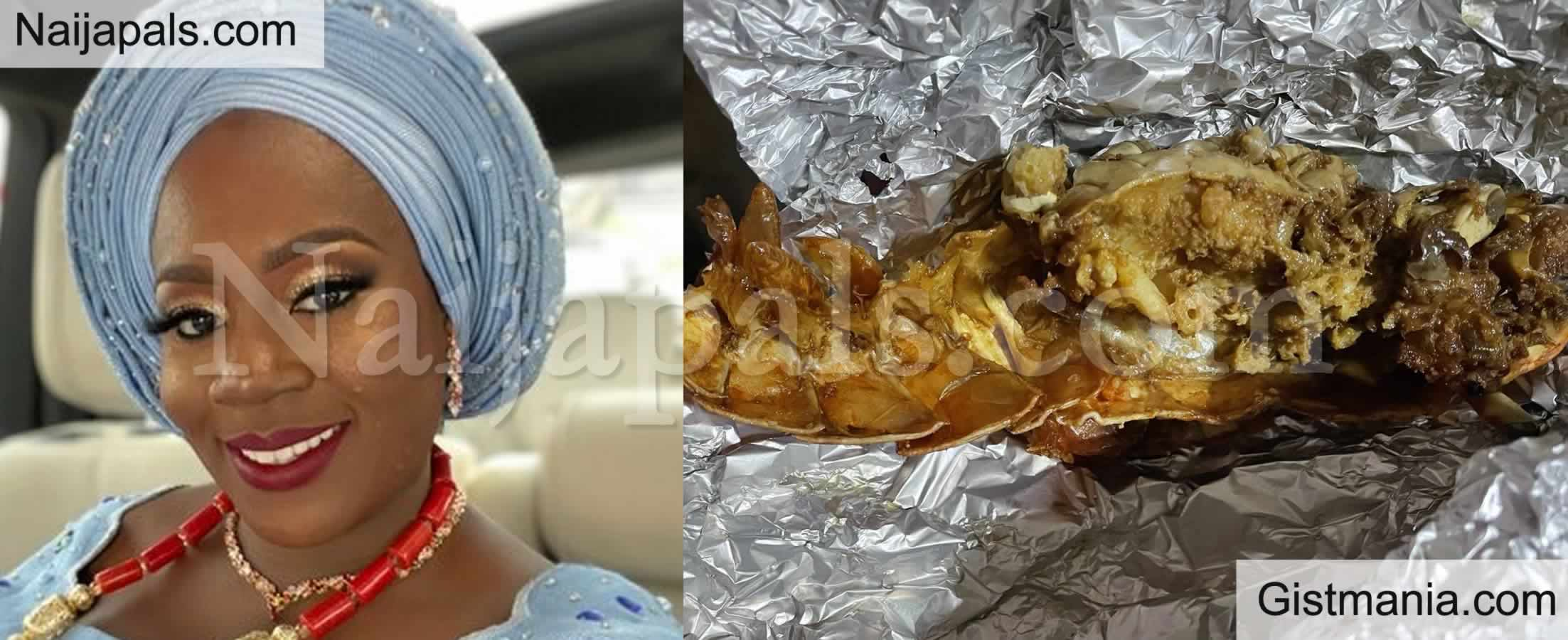 <img alt='.' class='lazyload' data-src='https://img.gistmania.com/emot/shocked.gif' /> <b>After Paying N23k For Lobster in a Lagos Restaurant, Lady Shocked At What She Got</b> (Photos)