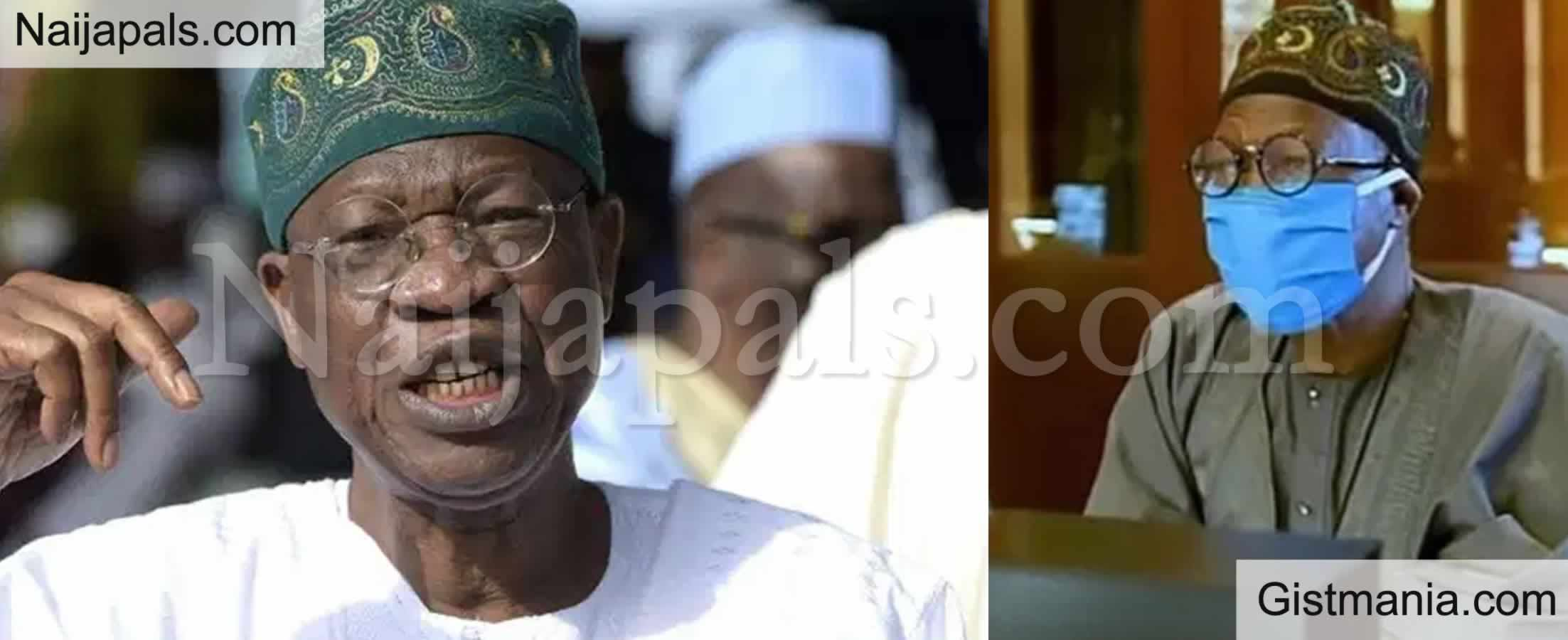 <img alt='.' class='lazyload' data-src='https://img.gistmania.com/emot/video.gif' /> <b>Disregard Any News Of A New Lockdown By FG</b> - Lai Mohammed (Video)