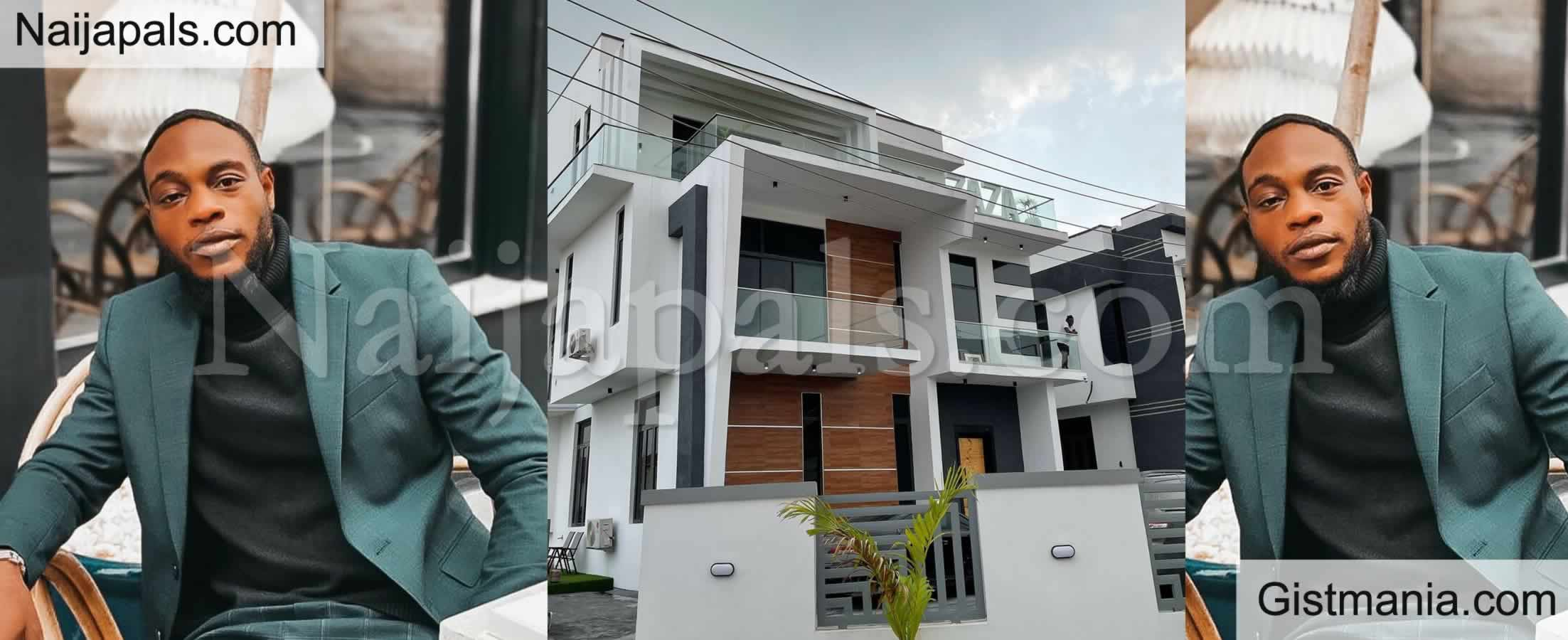 <img alt='.' class='lazyload' data-src='https://img.gistmania.com/emot/comment.gif' /> Photos: Singer, <b>LAX Becomes A Lagos Landlord As He Buys A House In Lekki</b>