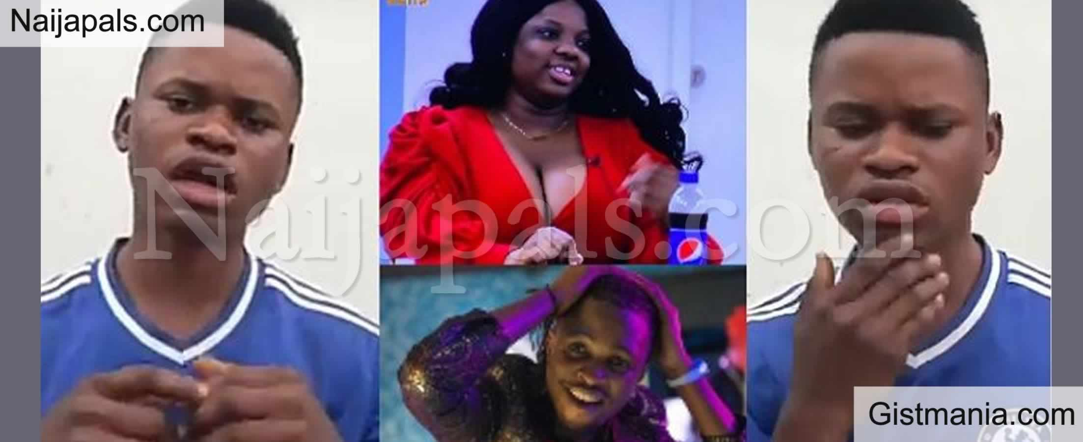 <img alt='.' class='lazyload' data-src='https://img.gistmania.com/emot/video.gif' /> BBNaija Palava! <b>Man Recounts How He Was Beaten Mercilessly by Dorathy's Fans For Voting Laycon</b> (VID)