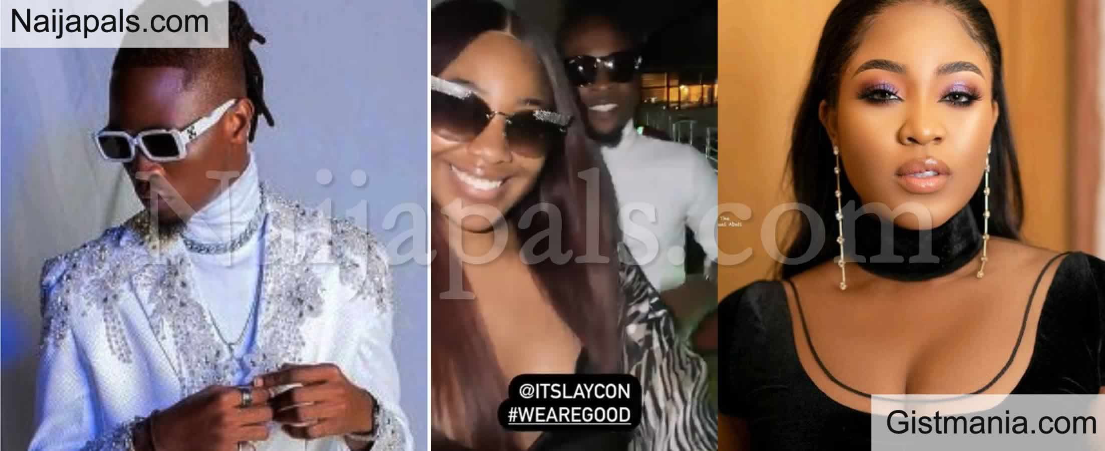 <img alt='.' class='lazyload' data-src='https://img.gistmania.com/emot/video.gif' /> <b>BBNaija Rivals Laycon & Erica Crush Their Beef, Spotted Hanging Out Together</b> (Video)