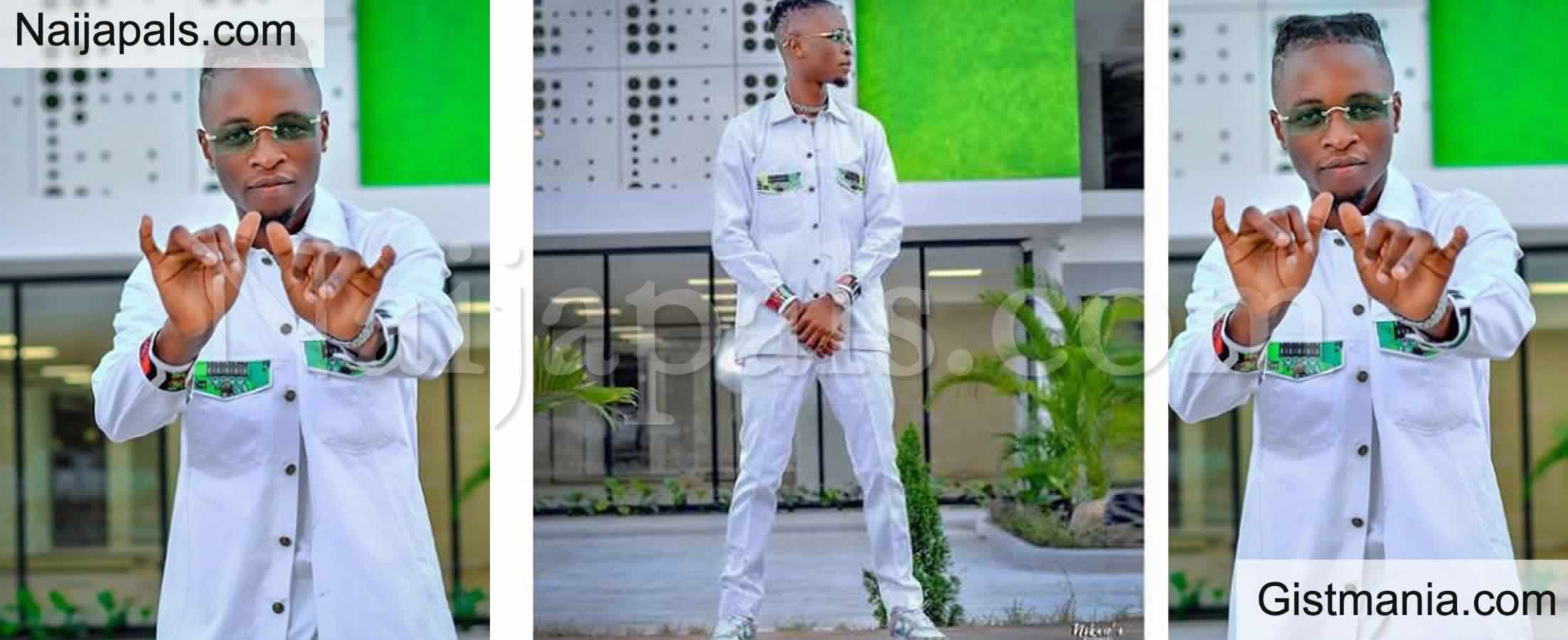 <img alt='.' class='lazyload' data-src='https://img.gistmania.com/emot/comment.gif' /> <b>Laycon Celebrates Independence Anniversary With Green White Green Themed Outfits</b> (Photos)