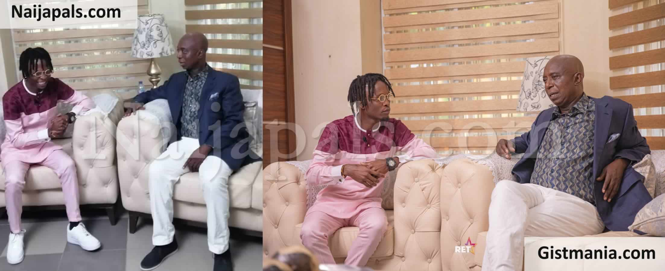 <img alt='.' class='lazyload' data-src='https://img.gistmania.com/emot/photo.png' /> <b>BBNaija Winner, Laycon Pays Courtesy Visit To Regina Daniels' Hubby, Ned Nwoko</b> (Photos)