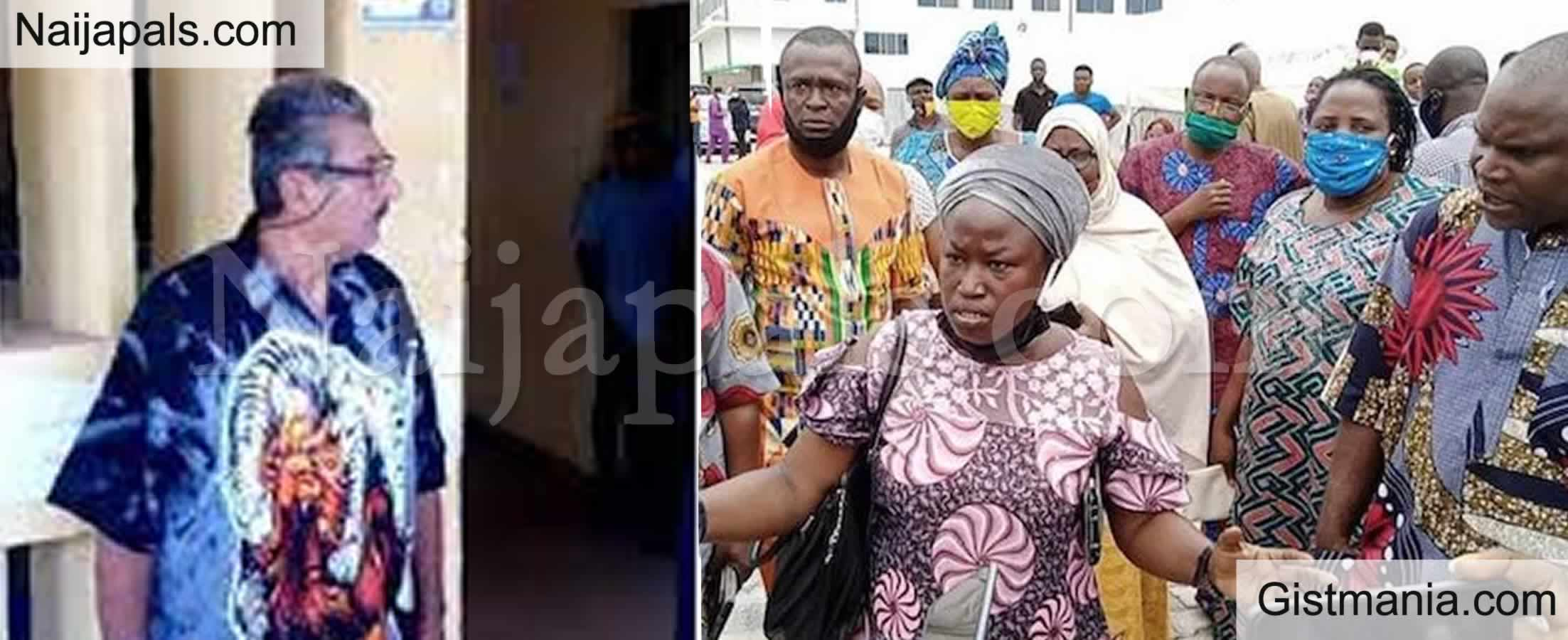 <img alt='.' class='lazyload' data-src='https://img.gistmania.com/emot/comment.gif' /> <b>Residents Protest The Release of a Lebanese Man Who Defiled And Impregnated 7 Minors in Jos</b>