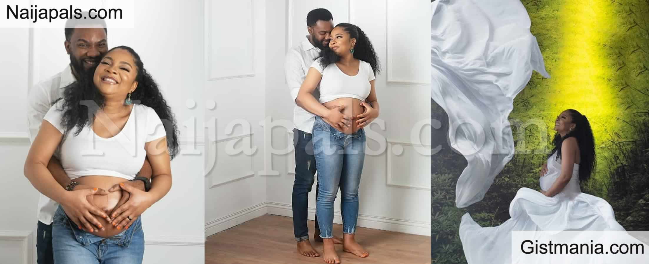 <img alt='.' class='lazyload' data-src='https://img.gistmania.com/emot/comment.gif' /> <b>Check Out More Beautiful Maternity Photos Of Linda Ejiofor</b>
