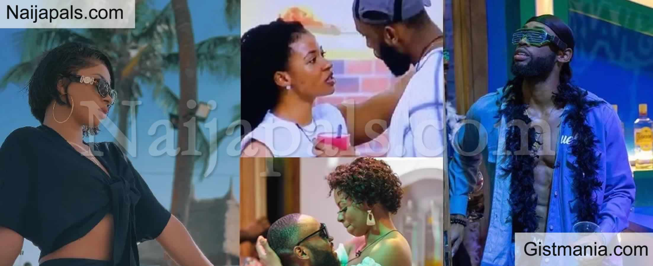 """<img alt='.' class='lazyload' data-src='https://img.gistmania.com/emot/comment.gif' /><b>BBNaija: """"I Don't Want To Wake Up Tomorrow And Start Looking For You"""" - Liquorose To Emmanuel</b>"""